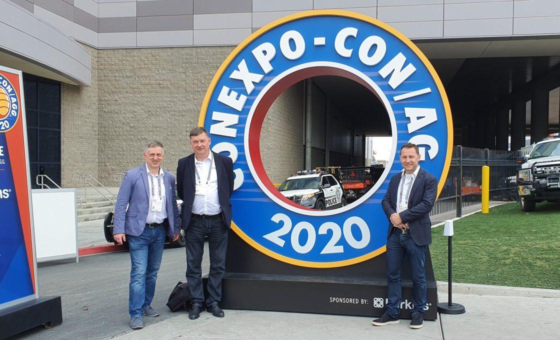 Mit dem Besuch bei CON EXPO 2020