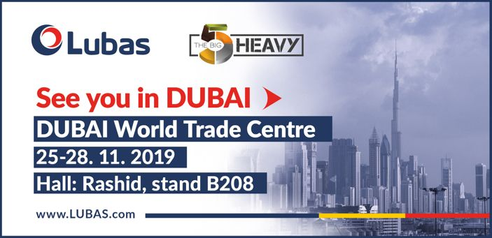 Produkty Lubas na targach BIG5 w Dubaju. 25-28.11.2019