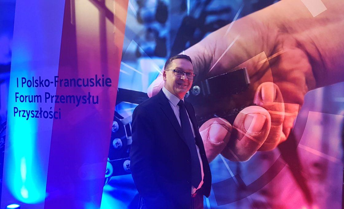 Firma Lubas na I Polsko-Francuskim Forum Przemysłu Przyszłości.