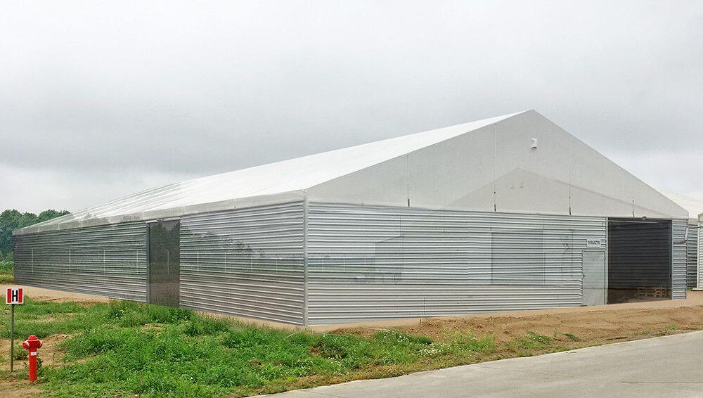 Новый складской зал