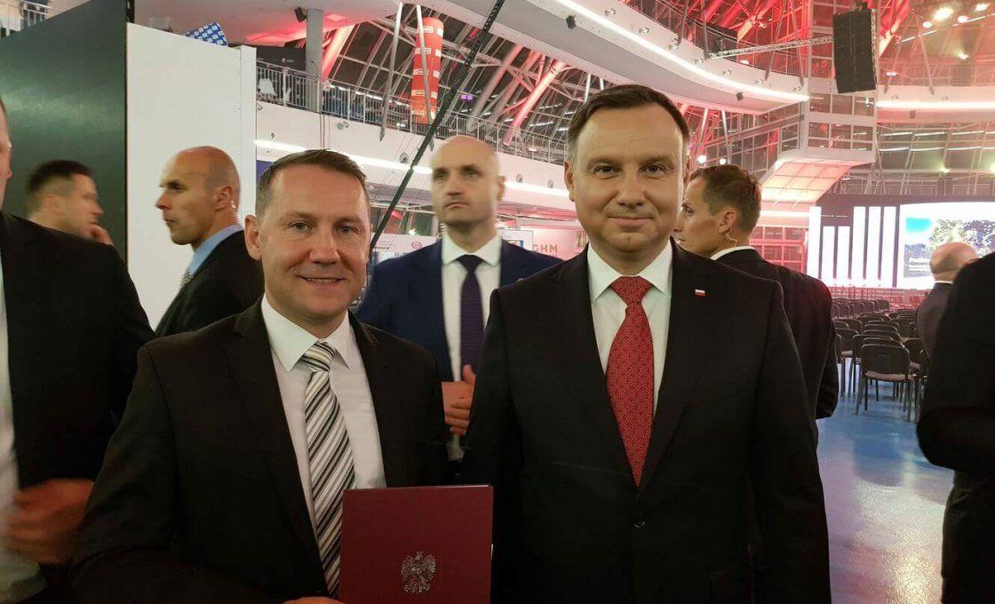 Entrega de premios del Presidente de la República de Polonia