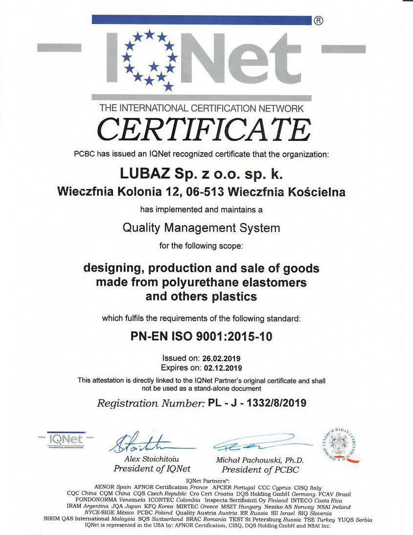 Certifikate design,production