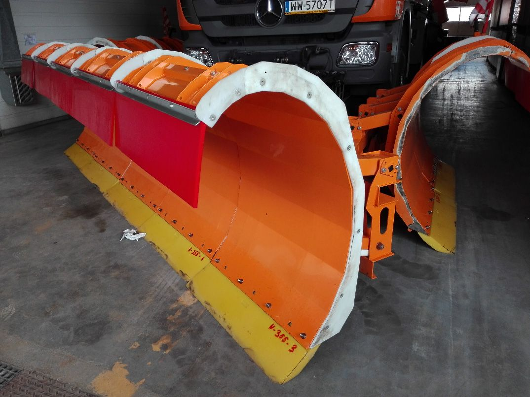 Blades for snow plows