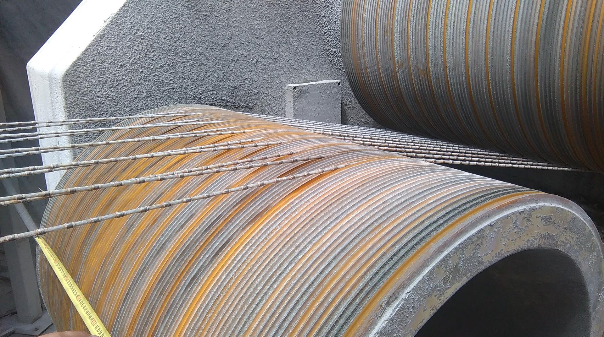 Regeneracja bębnów do traków linowych