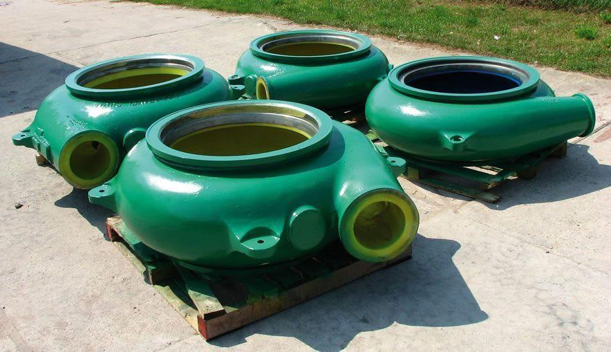 Regeneration of pumps