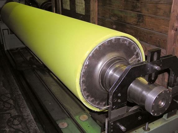 Polyurethane rollers' covers — regeneration