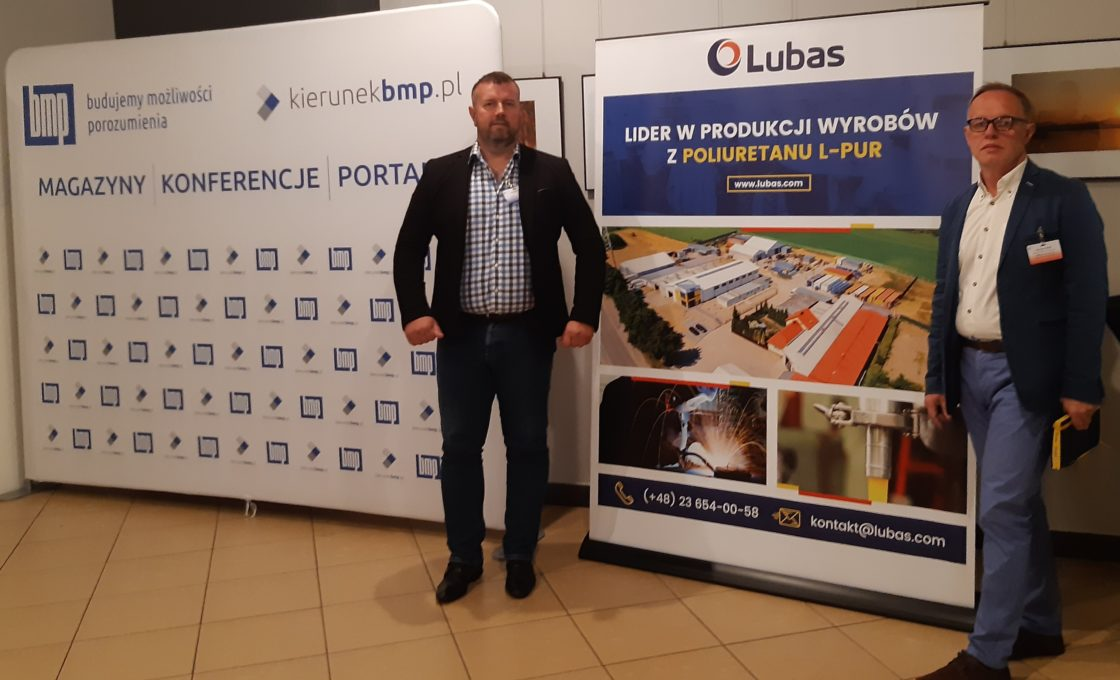 "Lubas representatives at the ""Modern Mines of Gravel and Sand"" conference in Bełchatów"