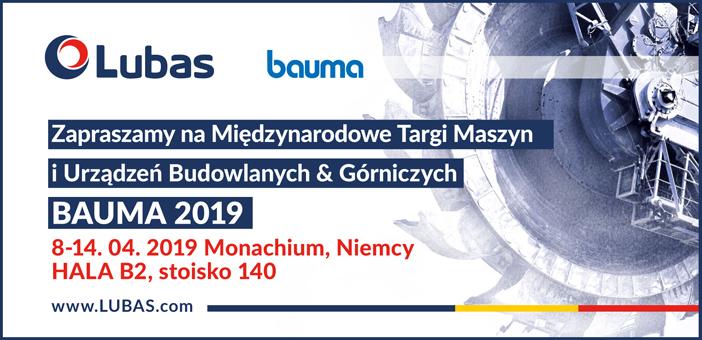 Targi Bauma 2019 Baner